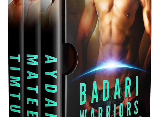 Great book for less than a buck: Badari Warriors Books 1-3 Box Set by @vscotttheauthor #99cents