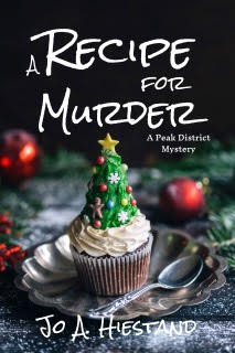 A Recipe For Murder by Jo A. Hiestand is a Christmas and Holiday Book Festival Pick #BritishMystery