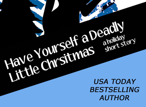 Have Yourself a Deadly Little Christmas by USA Today Bestseller @LeslieLangtry #ChristmasinJulyFete