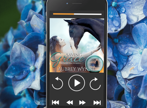 Celebrate Audiobook Month with Saving Grace by Award-Winning Bestseller @Aubreywynne51 #romanticsusp