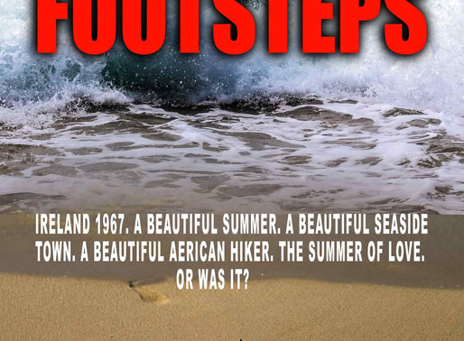 Footsteps by @obgowan is a Mystery and Suspense Festival pick #thriller #giveaway #historical