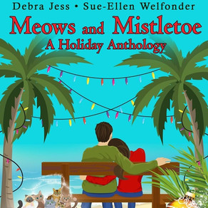 Book Review | Meows and Mistletoe: A Holiday Anthology (Cat's Paw Cove) by @sbuchbinder et. al #holi