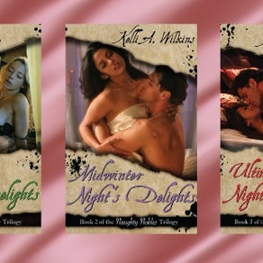 Like your romances spicy? Don't miss the Naughty Nobles trilogy by @KWilkinsauthor #romance #spicyro
