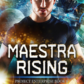 Book Review | Maestra Rising: Project Enterprise 8 by USA Today Bestseller @paulinebjones #scifiroma