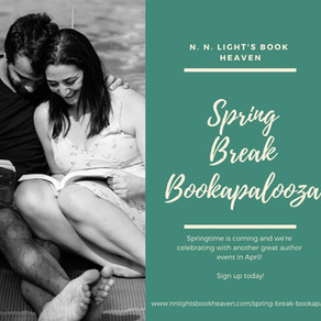 Celebrate April with our brand new author event! Sign-ups now open #authors #promo #bookmarketing