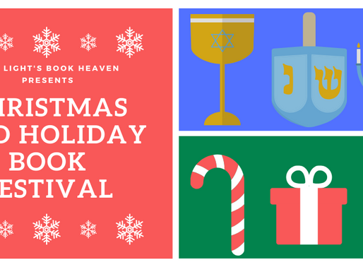 Don't miss this holiday promo opportunity, authors! #promo #Christmas #Hanukkah #holidays