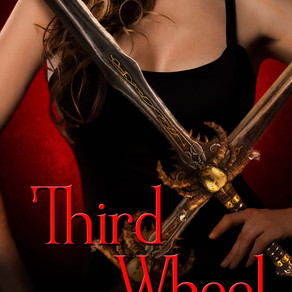 Third Wheel by @hauntsforsale is a Scary Reads for Halloween pick #pnr #paranormal #giveaway