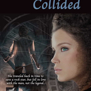 Two Worlds Collided by @KMNbooks is a Trick or Treat Bonanza pick #paranormal #timetravel #giveaway