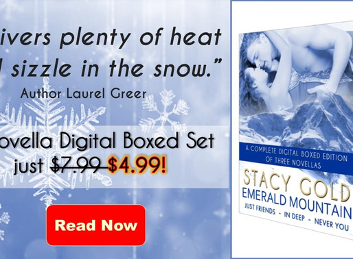 Check out the Emerald Mountain Ski Romance series by @AuthorStacyGold plus you'll save 40% off w