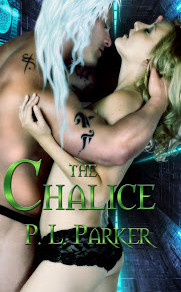 Celebrate romance with The Chalice by @PLParker #romance #scifirom #giveaway