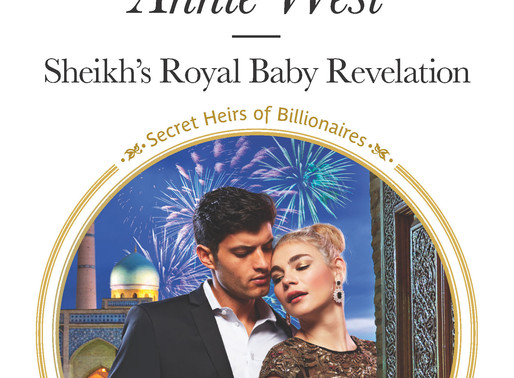 Sheikh's Royal Baby Revelation by USA Today Bestseller Annie West is a Binge-Worthy Book Festival Pi