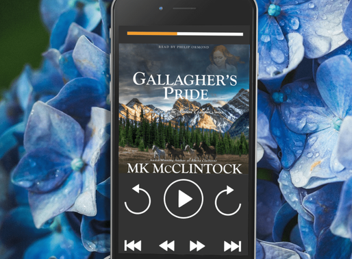 Celebrate Audiobook Month with Gallagher's Pride by Award-Winning Author @MKMcClintock #historic