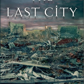#CoverReveal -- The Last City by @RMGilmour #bookstagram #SciFi #Romance #scifirom