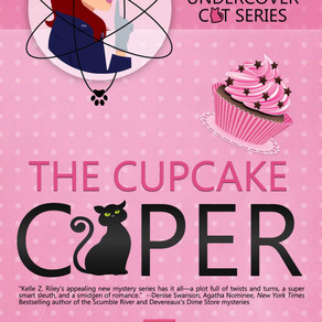 The Cupcake Caper by @kellezriley is a Cozy Mystery Event pick #cozymystery #romance #giveaway