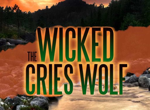 The Wicked Cries Wolf by McKenna Grey is a Super Reads Bookish Event pick #romanticsuspense #books