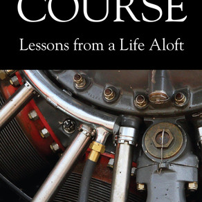 Cover Reveal | True Course – Lessons From a Life Aloft by Award-Winning Bestseller @LBJohnson8  #mem