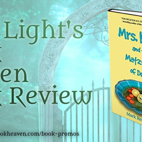 4 stars for Mrs. Kaplan and the Matzoh Ball of Death by @MarkReutlinger #cozymystery #bookreview