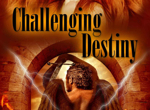 Challenging Destiny by @CherieColyer is a Trick or Treat Bonanza pick #yalit #paranormal #giveaway