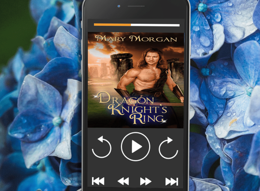Celebrate Audiobook Month with Dragon Knight's Ring by Award-Winning Bestseller @m_morganauthor