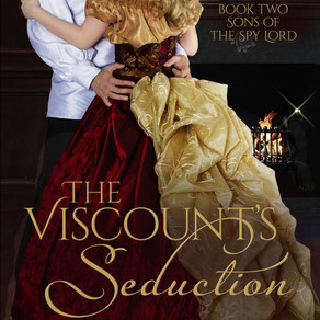 The Viscount's Seduction by Award-Winning Author @AlinaKField is a Fall Into These Great Reads Pick