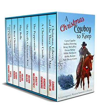 A Christmas Cowboy to Keep: A Contemporary Western Romance Collection by @PattiSherryCrew et. al. #C