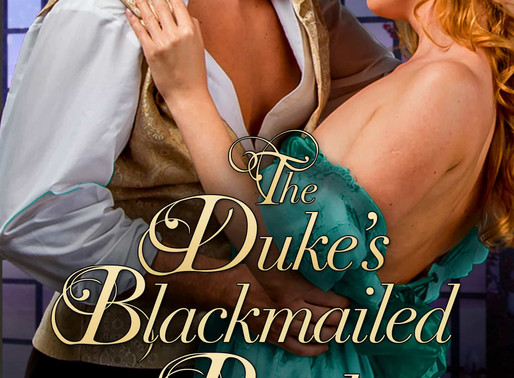 Discover regency romance with The Duke's Blackmailed Bride by @leighdansey #regency #giveaway