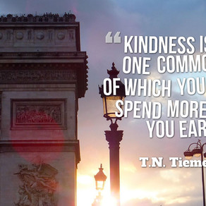 Kindness is the One Commodity of Which You Should Spend More Than You Earn! #MondayMotivation #Monda