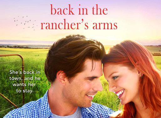 Celebrate weddings with Back in the Rancher's Arms by @elsiedavishea #sweetromance #giveaway