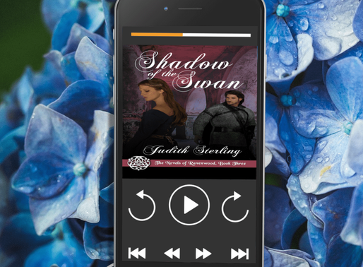 Celebrate Audiobook Month with Shadow of the Swan by Judith Sterling and @WildRosePress #historicalr