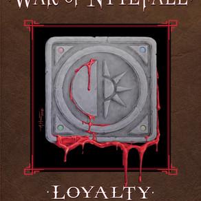 Very Descriptive With Tantalizing Plot Twists -- Loyalty (War of Nytefall, #1) by @cyallowitz #fanta