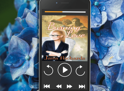 Celebrate Audiobook Month with Burning Love by Award-Winning @JanaRichards_ #romance #paranormalroma