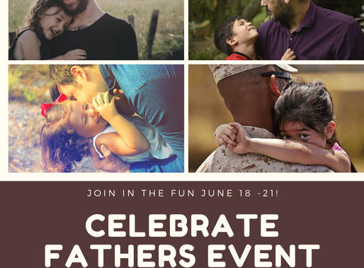 We're celebrating fathers and want your books! #marketing #signup #promo #fathersday