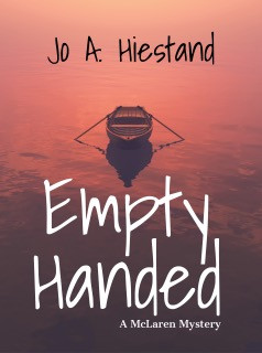 Book Heaven Wednesday presents Empty Handed by Jo A. Hiestand #BritishMystery #mystery #bookish