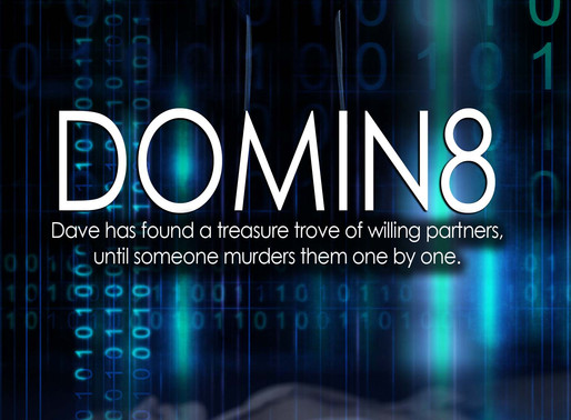 Domin8 by @StephenBKing1 is a Mystery and Suspense Festival pick #thriller #giveaway #wrpbks