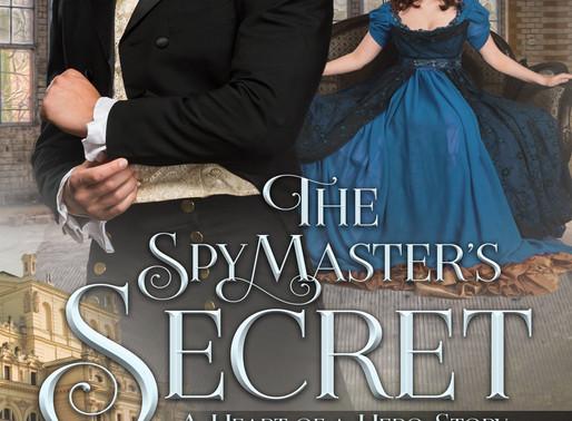 Celebrate spring with The Spymaster's Secret by @alannalucas27 #newrelease #historicalromance #g
