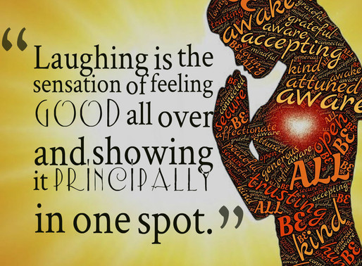 Inspirational Thought | When was the last time you laughed? #inspiration #motivation #health