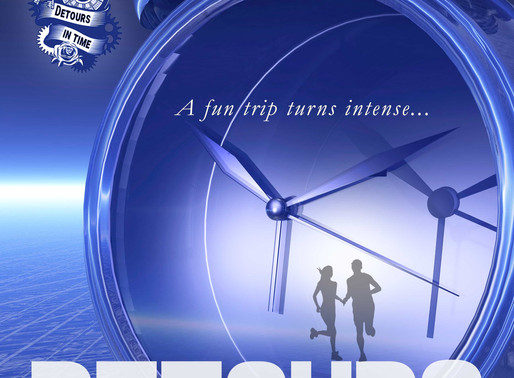 Detours in Time by @PamSCanepa1 is a Binge-Worthy Book Festival Pick #sciencefiction #scifi #timetra