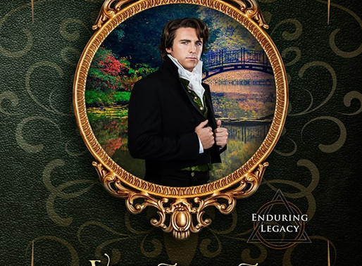 Celebrate spring with Visions of Pleasure (An Enduring Legacy Series) by @ClairBrett #historicalroma
