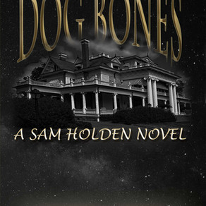 Sam's Never Had An Easy Time Letting Sleeping Dogs Lie . . . Dog Bones by @DianeMoatAuthor #crim
