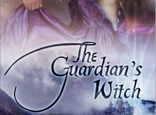 Discover historical fantasy romance with The Guardian's Witch by @RuthACasie #romance #giveaway