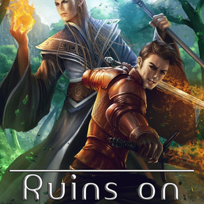 If They Fail, the World Will Be Plunged Into Darkness Forever . . . Ruins on Stone Hill by @FP_Spiri