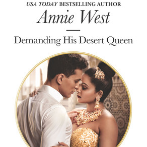 Demanding His Desert Queen by USA Today Bestseller Annie West is a Trick or Treat Book Bonanza Pick