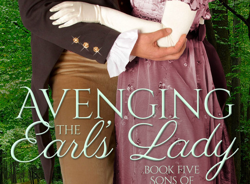 Celebrate Mothers with Avenging the Earl's Lady by @AlinaKField #regency #mothersday #giveaway