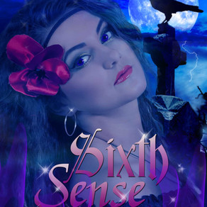 Sixth Sense by @MarilynBaron is a Trick or Treat Bonanza pick #romanticsuspense #psychic #giveaway