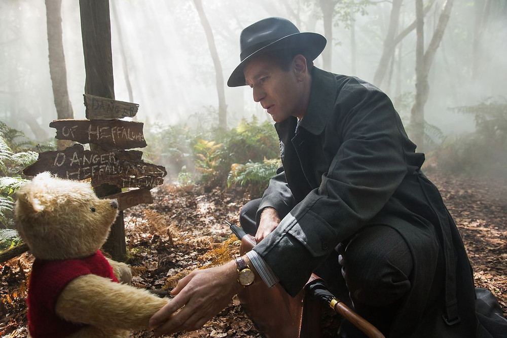 Image of Christopher Robin and Winnie the Pooh, Copyright Disney