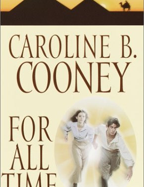 Will She and Strat Ever Be Together? For All Time (Time Traveler's #4) by Caroline B. Cooney #bookre