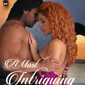 A Most Intriguing Temptation by @KWilkinsauthor Blends Adventure, Humor, Sizzling Love Scenes, An El