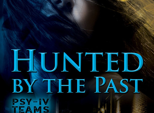 Hunted By The Past, PSY-IV Teams Book 1 by @JamiGrayAuthor is a Trick or Treat Book Bonanza Pick #pa