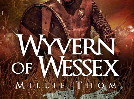 Book Review | Wyvern of Wessex (Sons of Kings Book 3) by @MillieThom #historicalfiction #hisfic #boo