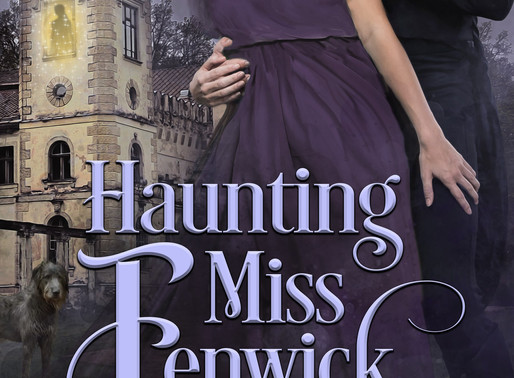 New Release | Haunting Miss Fenwick by Award-Winning Bestseller @AlinaKField #Regency #newrelease #b